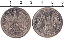 Изображение Монеты ФРГ 5 марок 1984 Медно-никель XF