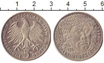 Изображение Монеты ФРГ 5 марок 1988 Медно-никель XF