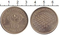 Изображение Монеты Венгрия 100 форинтов 1984 Медно-никель XF