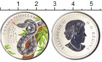 Изображение Монеты Канада 20 долларов 2013 Серебро UNC