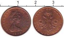 Изображение Дешевые монеты Остров Мэн 1/2 пенни 1975 Бронза UNC-