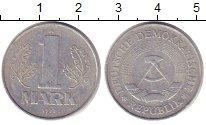 Изображение Дешевые монеты ГДР 1 марка 1977 Алюминий XF- А