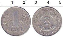 Изображение Дешевые монеты ГДР 1 марка 1982 Алюминий XF