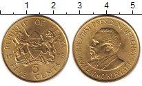 Изображение Дешевые монеты Кения 5 центов 1978 Латунь XF