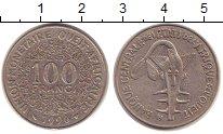Изображение Барахолка Западно-Африканский Союз 100 франков 1996 Медно-никель XF