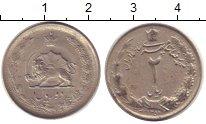 Изображение Дешевые монеты Иран 2 риала 1973 Медно-никель XF