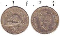 Изображение Дешевые монеты Канада 5 центов 1994 Медно-никель XF