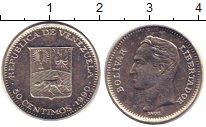 Изображение Барахолка Венесуэла 50 сентимо 1990 Медно-никель XF+