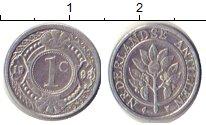 Изображение Барахолка Антильские острова 1 цент 1993 Алюминий UNC-