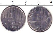 Изображение Барахолка Бразилия 1 крузейро 1979 Сталь XF