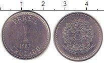Изображение Дешевые монеты Бразилия 1 крузадо 1987 Сталь XF