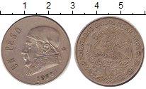 Изображение Дешевые монеты Мексика 1 песо 1970 Медно-никель XF