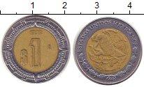 Изображение Дешевые монеты Мексика 1 песо 1996 Биметалл XF