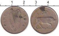 Изображение Барахолка Ирландия 5 пенсов 1974 Медно-никель XF-