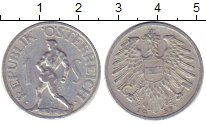 Изображение Дешевые монеты Австрия 1 шиллинг 1957 Алюминий XF