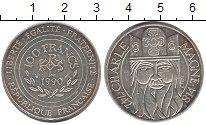 Изображение Монеты Франция 100 франков 1990 Серебро UNC