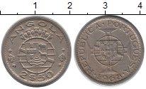 Изображение Монеты Ангола 2 1/2 эскудо 1968 Медно-никель XF