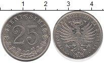 Изображение Монеты Италия 25 сентим 1903 Медно-никель VF