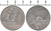 Изображение Монеты ФРГ 10 марок 2000 Серебро UNC-