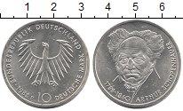 Изображение Монеты Германия ФРГ 10 марок 1988 Серебро UNC