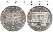 Изображение Монеты ФРГ 10 марок 1993 Серебро Proof