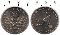 Изображение Монеты Корея 1000 вон 1987 Медно-никель Proof