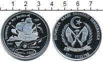 Изображение Монеты Сахара 500 песет 1992 Серебро Proof