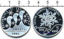 Изображение Монеты Сан-Марино 5 евро 2005 Серебро Proof
