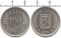Изображение Монеты Финляндия 100 марок 1956 Серебро UNC