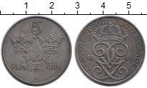 Изображение Монеты Швеция 5 эре 1946 Железо XF