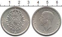 Изображение Монеты Швеция 2 кроны 1950 Серебро XF