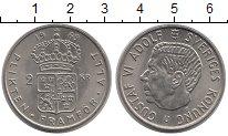 Изображение Монеты Швеция 2 кроны 1969 Медно-никель XF
