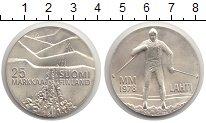 Изображение Монеты Финляндия 25 марок 1978 Серебро UNC