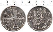 Изображение Монеты Финляндия 100 марок 1998 Серебро UNC