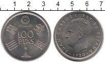 Изображение Монеты Испания 100 песет 1980 Медно-никель UNC- Чемпионат мира по фу