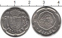 Изображение Монеты Испания 50 песет 1996 Медно-никель UNC-
