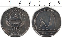Изображение Монеты Кабо-Верде 200 эскудо 1995 Медно-никель UNC- 20-я годовщина незав