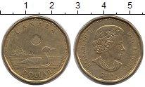 Изображение Монеты Канада 1 доллар 2015 Латунь XF