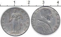 Изображение Монеты Ватикан 5 лир 1953 Алюминий UNC-