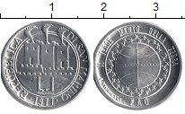 Изображение Монеты Сан-Марино 1 лира 1977 Алюминий UNC- Экология