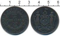 Изображение Монеты Борнео 1 цент 1887 Медь XF