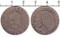 Изображение Барахолка Швеция 1 крона 1980 Медно-никель XF