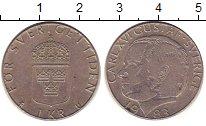 Изображение Дешевые монеты Швеция 1 крона 1983 Медно-никель XF
