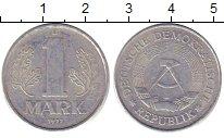 Изображение Дешевые монеты ГДР 1 марка 1977 Алюминий XF