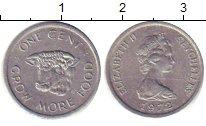 Изображение Барахолка Сейшелы 1 цент 1972 Медно-никель XF