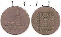 Изображение Дешевые монеты Израиль 1/2 шекеля 1994 Медно-никель XF