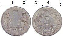 Изображение Дешевые монеты ГДР 1 марка 1957 Алюминий XF-