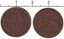 Изображение Дешевые монеты Нидерланды 1 цент 1926 Медь XF