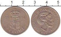 Изображение Дешевые монеты Маврикий 1 крона 1984 Медно-никель XF