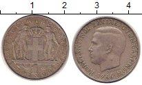Изображение Дешевые монеты Греция 1 драхма 1966 Медно-никель XF-